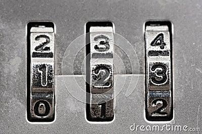 Combination Lock dials