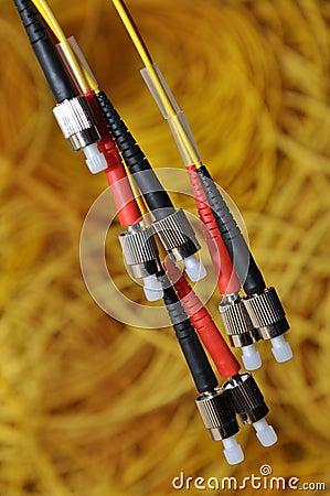 Combination of optical plug