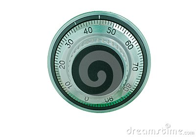 how to open a combination dial safe