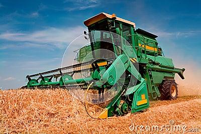 Combine harvester Editorial Image