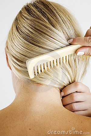 Free Combing Hair Stock Photo - 4132460