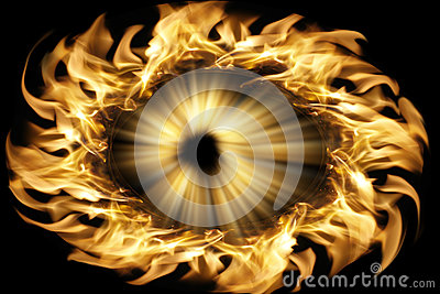 The combustion of the pupil