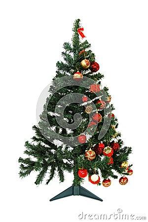 Come decorare un albero di natale fotografia stock immagine 47163052 - Decorare un arco per natale ...