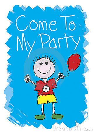 Free Come To My Party - Boy Stock Images - 2954214