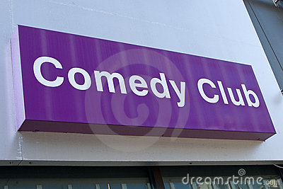 Comedy Club Sign