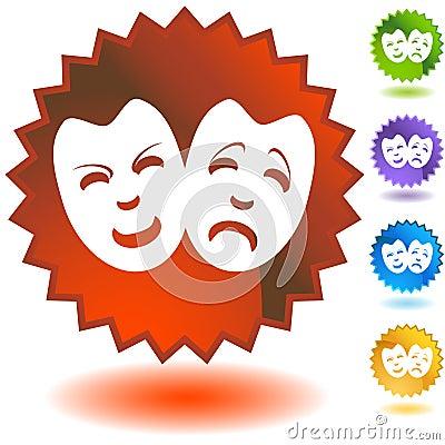 Comedy Masks