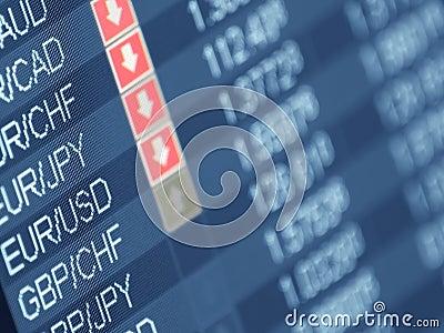Comercio de dinero en circulación