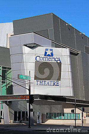 Comerica Theatre Editorial Photo