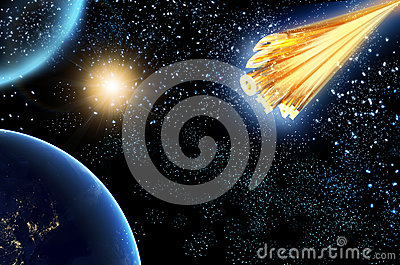 comet or asteroid approaching earth - photo #37
