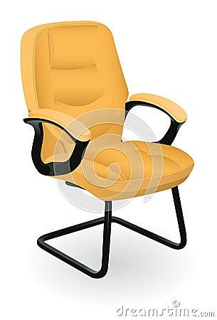 The comfortable armchair