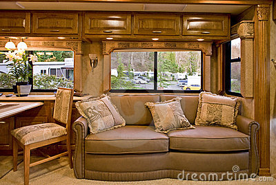 Comfortable Camper Interior Stock Photo Image 4673900