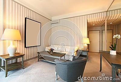 Comfortable classic living room