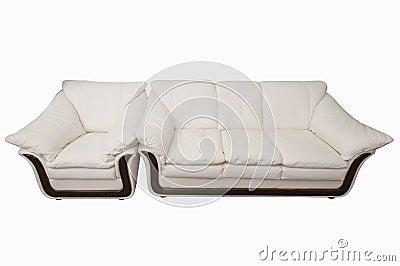 Comfortable sofa.