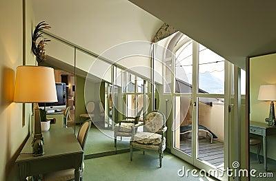 Comfortable suite, attic room
