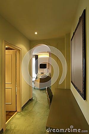 Comfortable suite, corridor