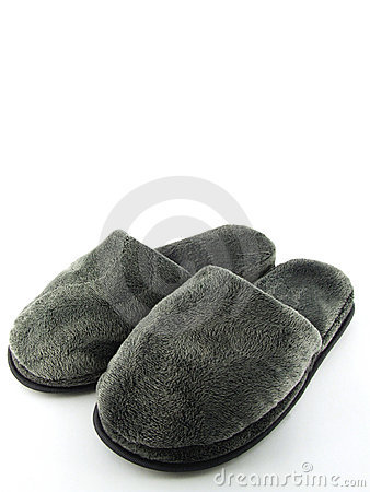 Free Comfy Home Shoes Royalty Free Stock Images - 3801879
