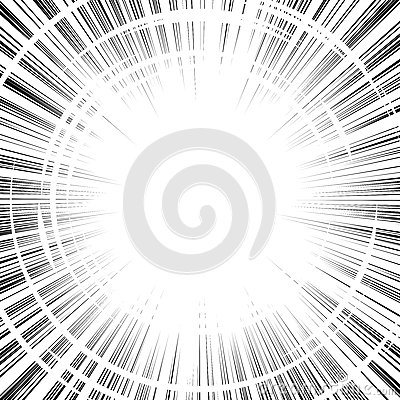 Free Comic Book Black And White Radial Lines Background Square Fight Stock Photos - 64508273