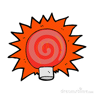 Red Flashing Light Royalty Free Stock Photos - Image: 9734248