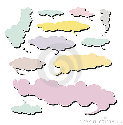 Comic Cloud collection - Set 4