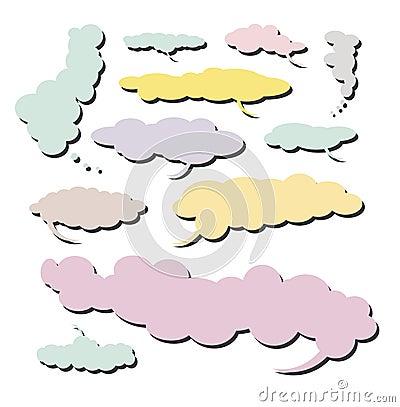 Comic Cloud collection - Set 4