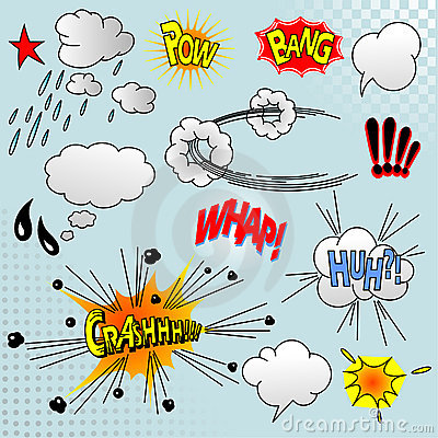 Free Comic Elements Stock Images - 15119094