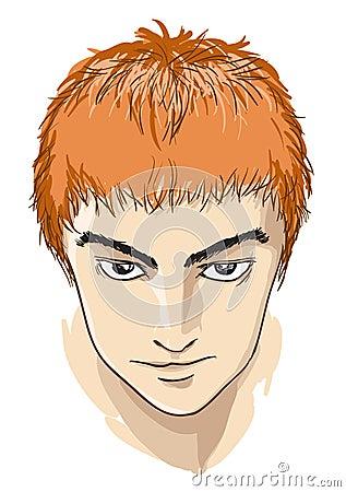 Comic face