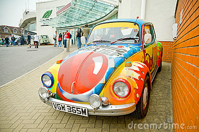 Comic Relief Beetle Editorial Image