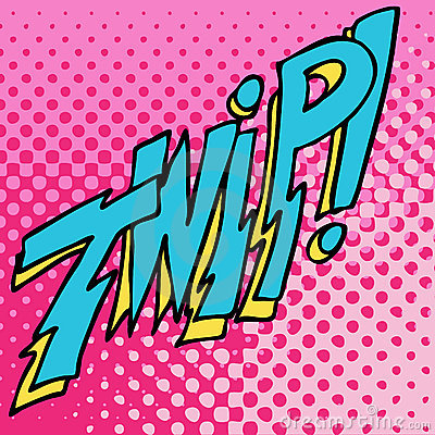 Comic Twip Sound Text Effect