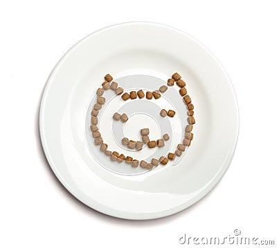 Comida para gatos seca