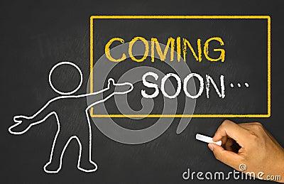Coming Soon Stock Photo Image 45708207