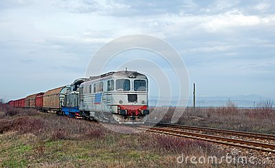 Coming speedy train