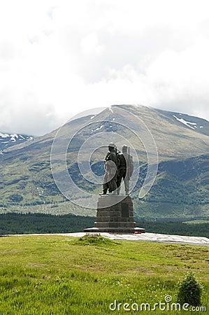 Commando Memorial, Highlands - Scotland