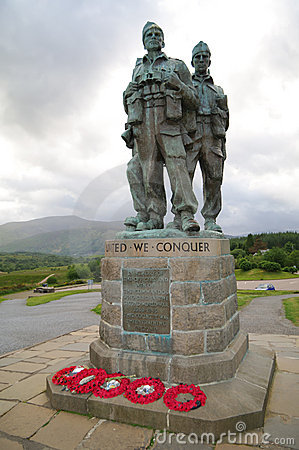 Commando Memorial Spean Bridge Scotland