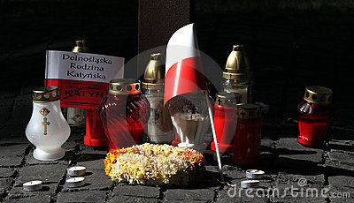 Commemoration of the victims of totalitarism Editorial Photography