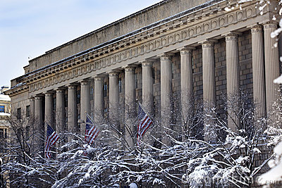 Commerce Department After Snow Pennsylvania Ave