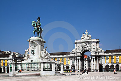 Commerce Square in Lisbon
