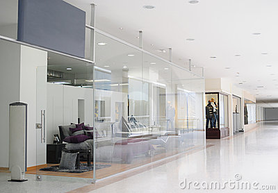 Commercial center.