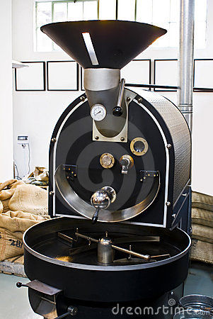 Commercial Coffee Drum Roaster
