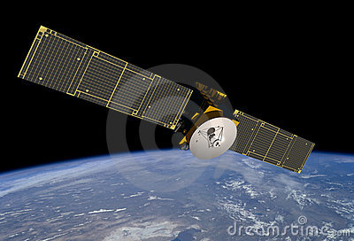 HIGH TECH COMMUNICATION SATELLITE TECHNOLOGY