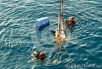 Commercial divers