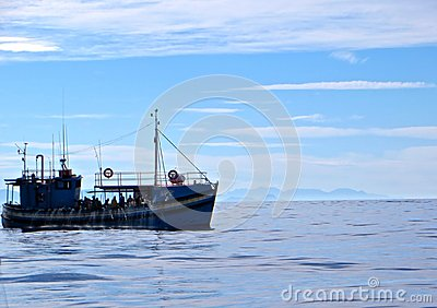 Commercial fisherman Editorial Image