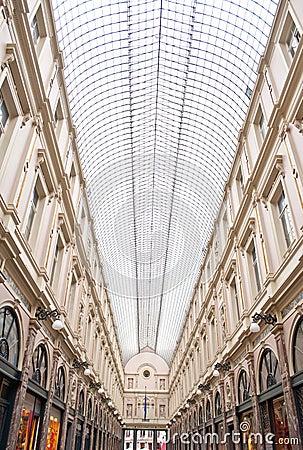 Commercial Galleries Saint-Hubert, Brussels