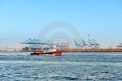 Commercial harbor