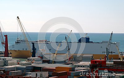 Commercial port, salerno