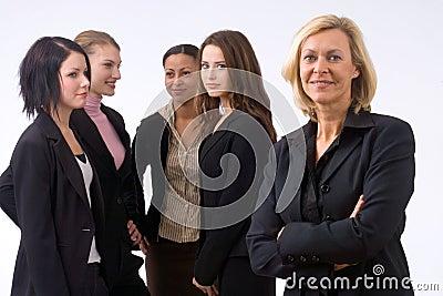 Commercieel team in bureau