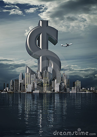Commerciële stadsdollar