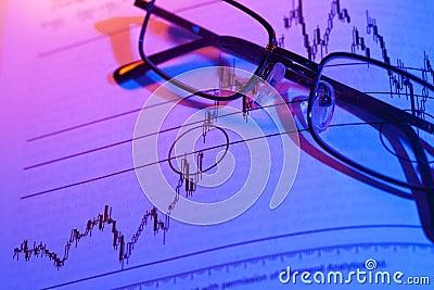 Commercio di riserva del grafico
