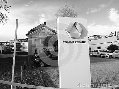 Commerzbank Editorial Stock Image