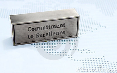 Commitment to excellence value