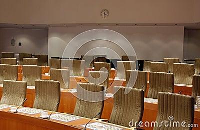 Committee meeting room